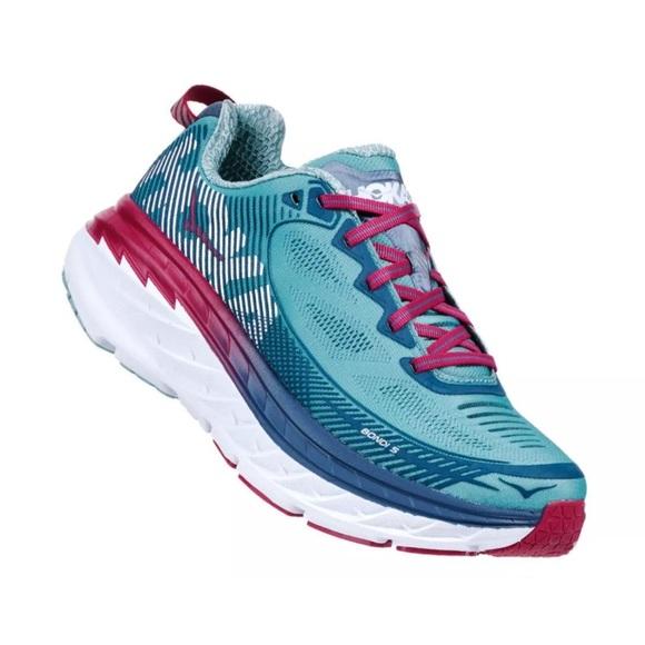 Hoka One One Shoes - Hoka One One Bondi 5 Aquifer Running Shoes NEW 5